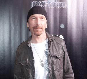 U2's The Edge is the world's most famous beanie hat wearer