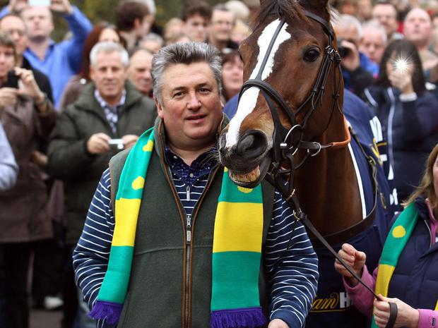 Kauto Star: Delighting Nicholls with his progress