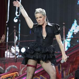 Pink took time out to look after her new daughter