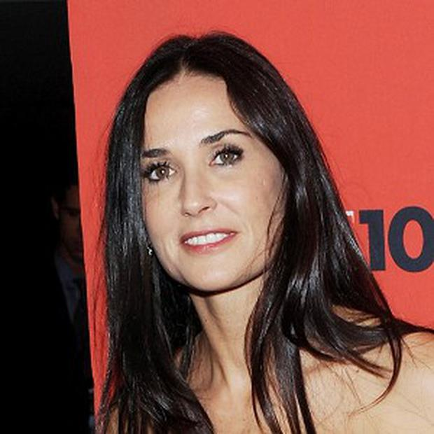 Demi Moore is working on her autobiography