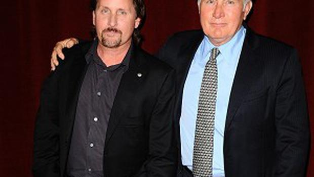 Emilio Estevez said the film was part inspired by his dad, Martin Sheen