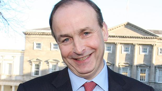 Micheal Martin raced ahead of his competitors in the leadership contest with a series of Fianna Fail TDs coming out to declare support for him. Photo: Tom Burke