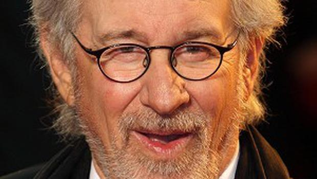 Director Steven Spielberg arrives for the UK Royal film premiere of War Horse at the Odeon, Leicester Square, London