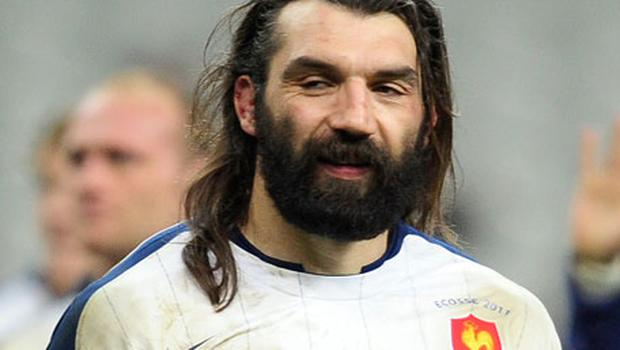 France's Sebastien Chabal is expected to start against England. Photo: Getty Images