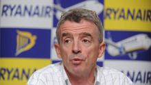 Michael O'Leary. Damien Eagers