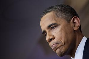 Obama: does not want short-term debt ceiling rise. Photo: Getty Images