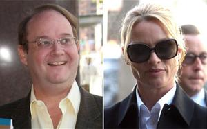 Desperate Housewives creator Marc Cherry and actress Nicollette Sheridan