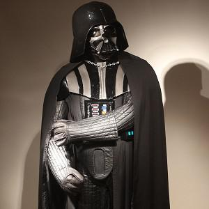 An original Darth Vader costume is being sold at auction