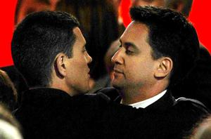 Ed Miliband, right, has been hit by claims he plotted to beat his brother David to the Labour leadership . Photo: Getty Images