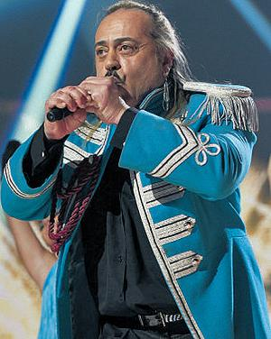Wagner performs on the X Factor