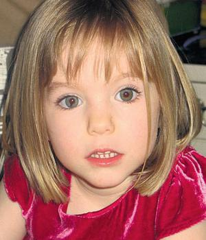 Madeleine McCann: went missing in May 2007.
