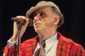 Kevin Rowland of Dexys on stage at Playhouse on May 7, 2012 in Whitley Bay. Photo: Getty Images