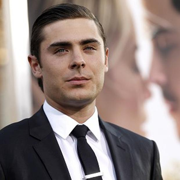 Zac Efron had to work hard to prepare for The Lucky One