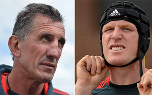 Munster coach Rob Penney and Paul O'Connell