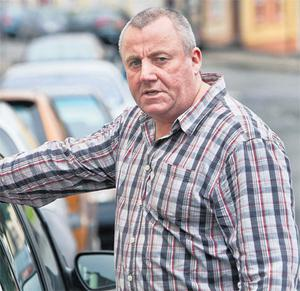 Brendan Mahoney outside Kilrush District Court