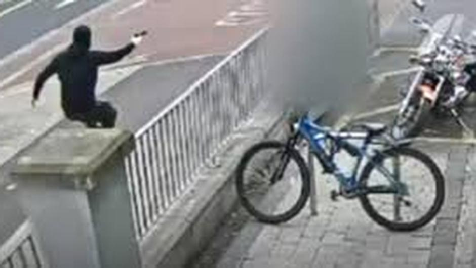 CCTV footage of shooting from Crimecall September               2019