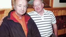 Willie, left, and Paddy Hennessy