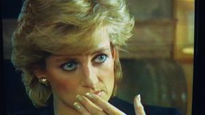 'Three people in this marriage': Princess Diana during her infamous 1995 Panorama interview. Photo by Getty