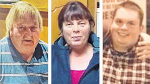 Mossie, Eileen and Jamie O'Sullivan were found dead in a murder suicide at their home in Lixnaw, north Kerry