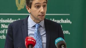 Minister Simon Harris is among those who said the new rules did not go far enough. Photo: Julien Behal Photography