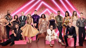 BBC handout photo of Strictly Come Dancing's celebrity contestants - but there are reports that two unnamed professional dancers have refused the Covid vaccine