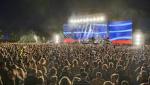 The biggest concert of its kind since lockdown took place in Waitangi, Bay of Islands, New Zealand