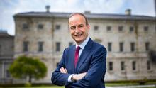 Taoiseach Micheal Martin. Photo: Mark Condren