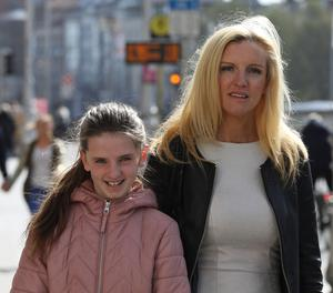 Aoife Naghten with her mother Teresa Crowley