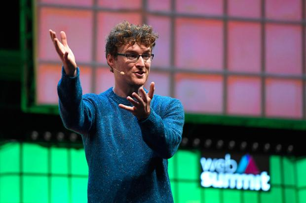 Paddy Cosgrave CEO of Web Summit. Photo: Harry                   Murphy