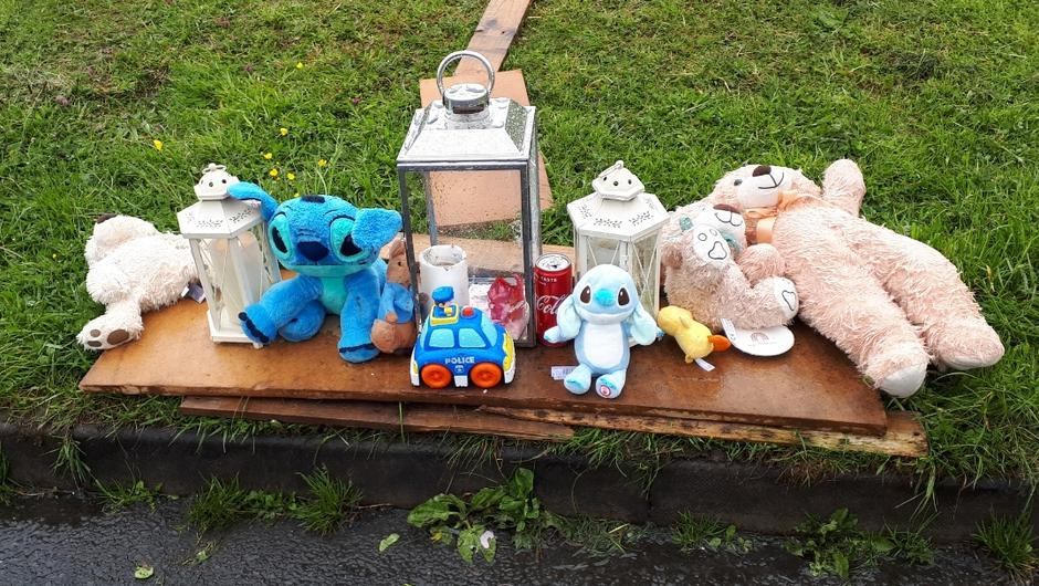 Tributes to child killed in road accident in Longford housing estate