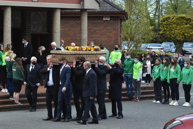 The funeral of Conor King of Broadale, Douglas in Cork (Photo: Independent.ie)