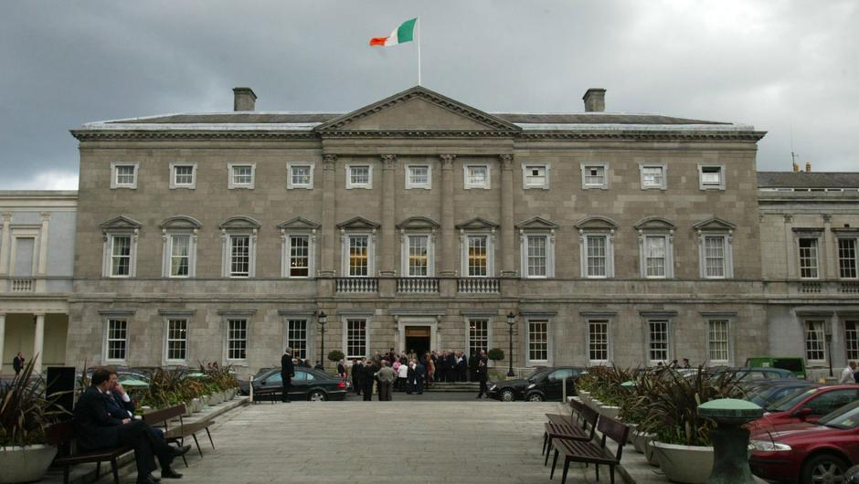 Leinster House. Stock picture