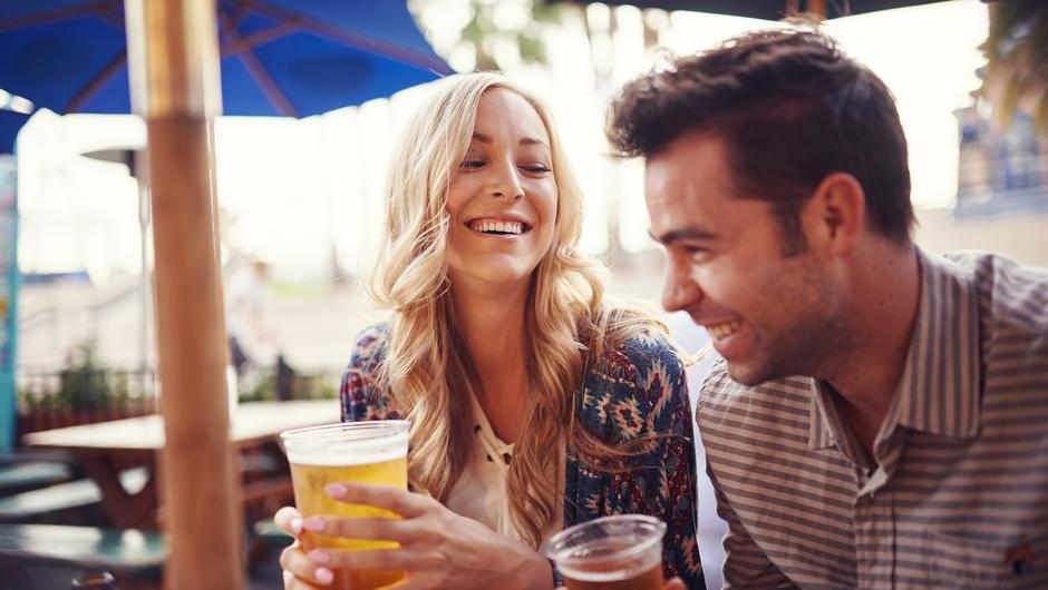 It is anticipated that people will be able to order an alcoholic drink without having to also order a €9 meal. Stock image