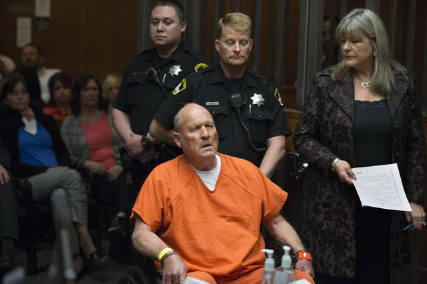 Former policeman Joseph DeAngelo who was identified as the Golden State Killer
