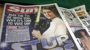 Scottish Sun reporter Russell Findlay had liquid thrown in his face at his home