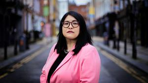 Dublin Lord Mayor Hazel Chu pictured in Dublin city centre. Picture: Gerry Mooney
