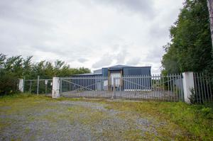 On hold: The site of the proposed €40m meat processing plant in Banagher, Co Offaly