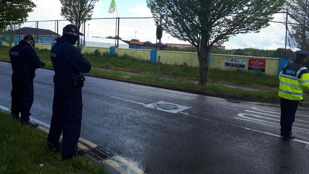 Armed gardaí drafted in as council secure injunction to remove 2,000 sq ft marquee to host wedding after party