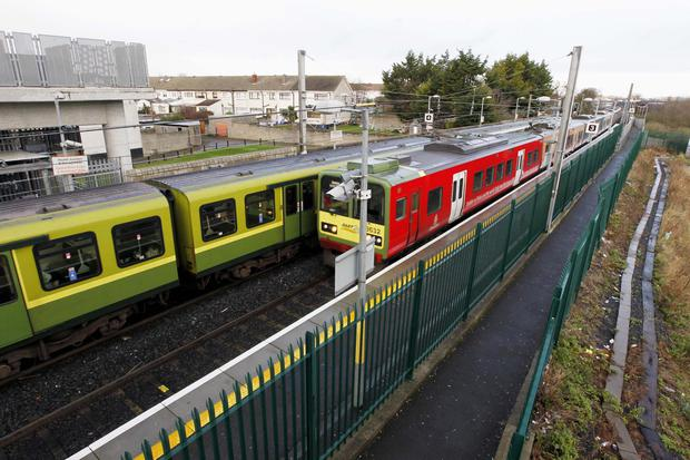 Howth Junction is one of the Dart stations that has seen a surge in anti-social behaviour