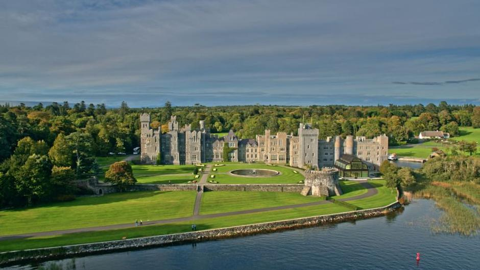 The five-star Ashford Castle in Co Galway