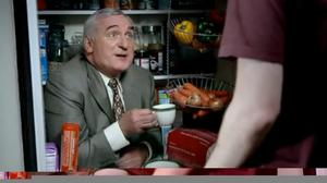 A memorable ad campaign for News of the World saw Bertie Ahern pop up in a cupboard