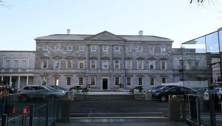 There is no direct threat at present to Leinster House but a meeting of the Oireachtas Business Committee heard that there is no room for complacency.