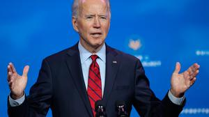 US President-elect Joe Biden is expected to take a more compassionate approach to undocumented people in the US than Donald Trump. Photo: Chip Somodevilla/Getty Images