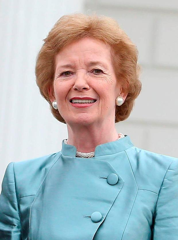 'Rock the system, not the cradle': former President Mary Robinson