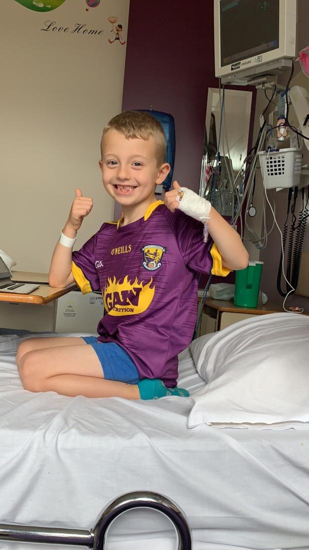Tommy Kinsella (7) has had his surgery cancelled eight times