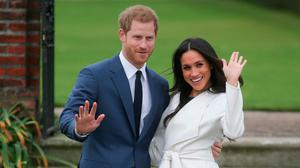Meghan Markle pictured with Prince Harry