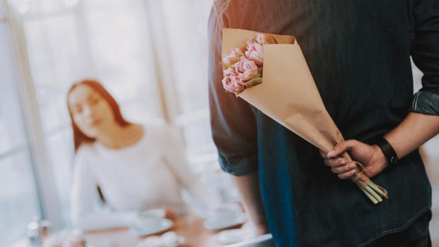 We don't want anything that involves flowers. Stock photo