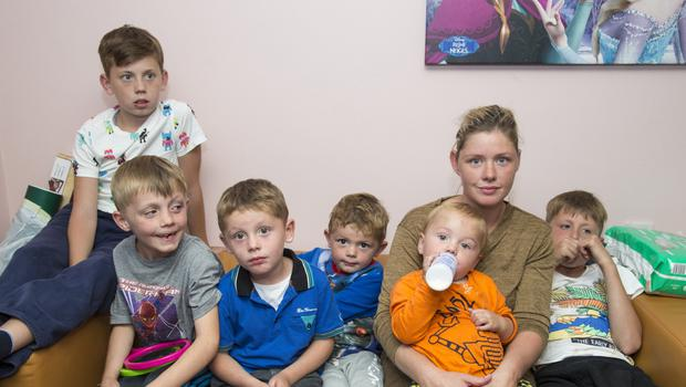 Demands: Margaret Cash was sneered at when she and her children slept in a Garda station