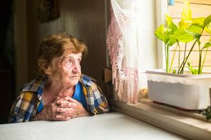 Isolation: Studies have found that long-term loneliness can affect physical health. Stock picture