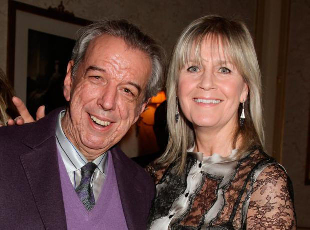 HIT MAKER: Rod Temperton, pictured with his wife Kathy in 2012, wrote some of Michael Jackson's best-known songs. He died in October at 66. Photo: Shutterstock/PA